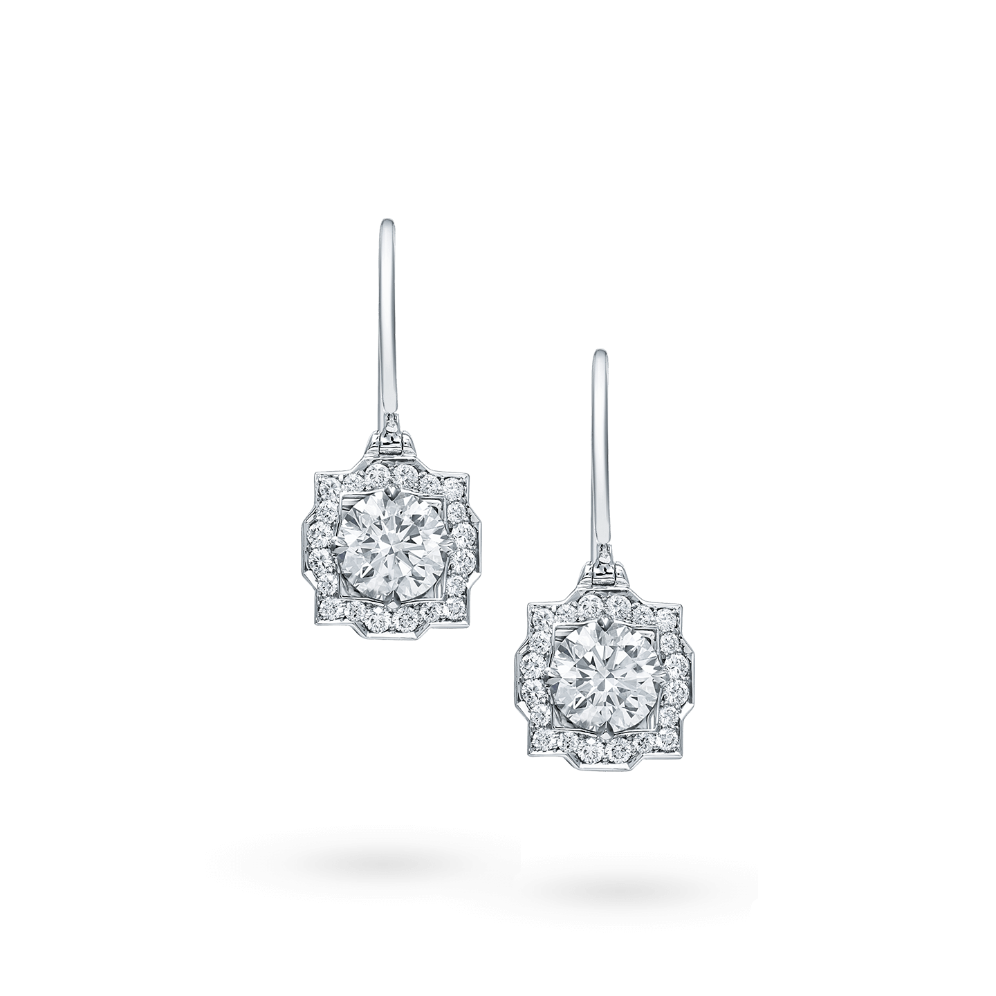 Belle Diamond Earstuds on Wires, Product Image 1