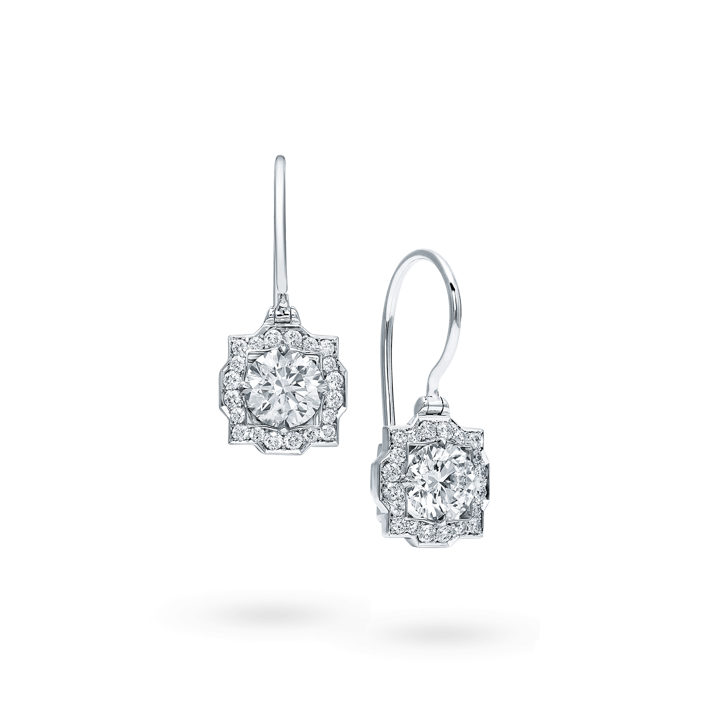 Belle Diamond Earstuds on Wires, Product Image 2