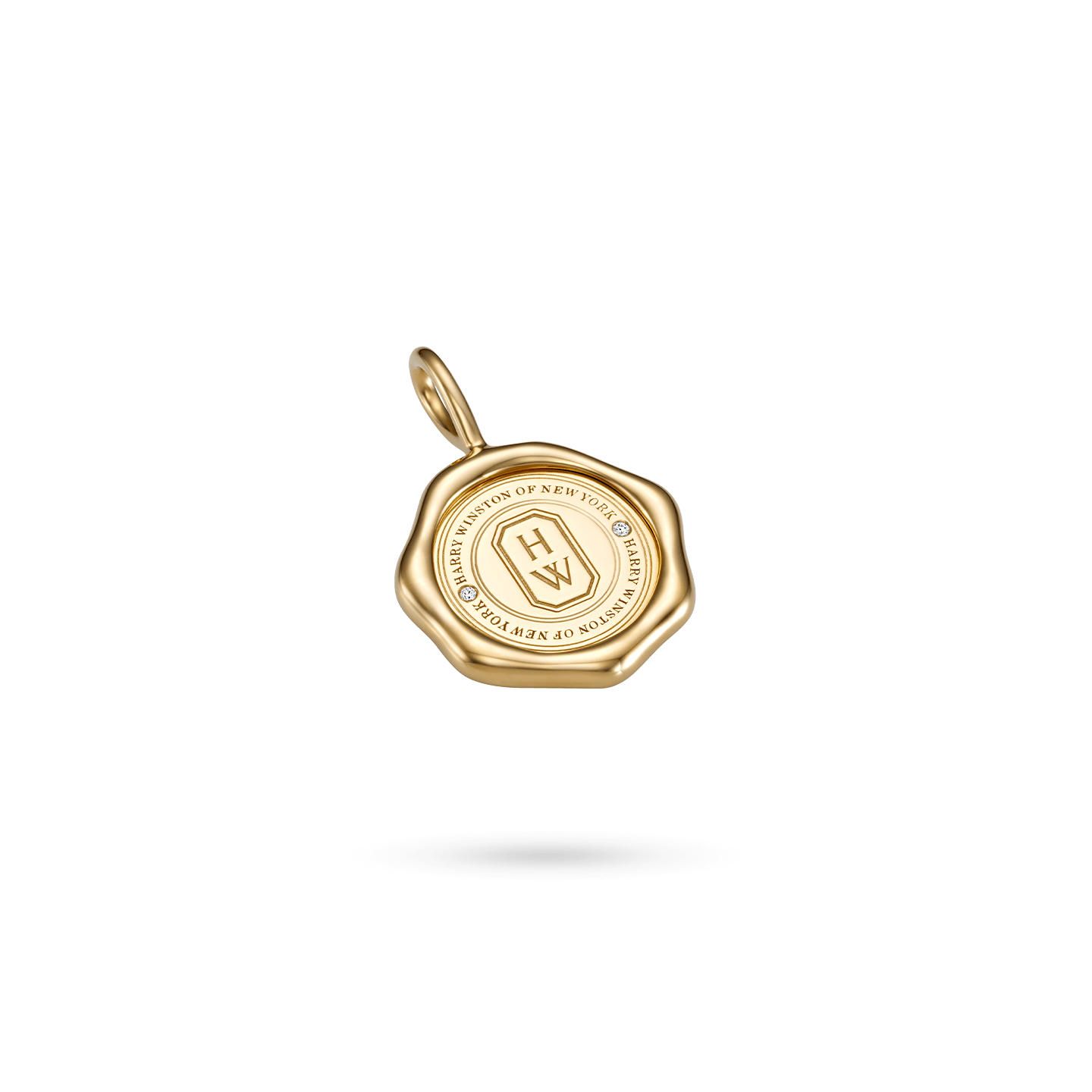 Sealed by Harry Winston Charm in Yellow Gold, Product Image 1