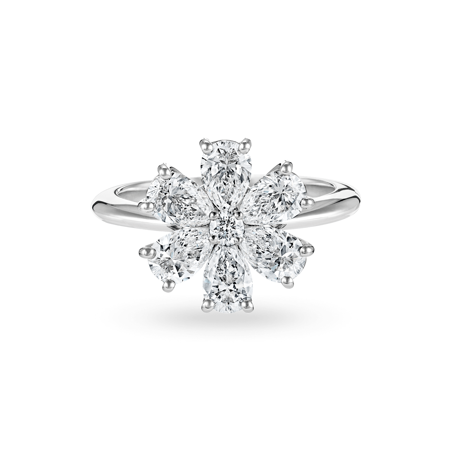 Forget-Me-Not Diamond Ring, Product Image 1
