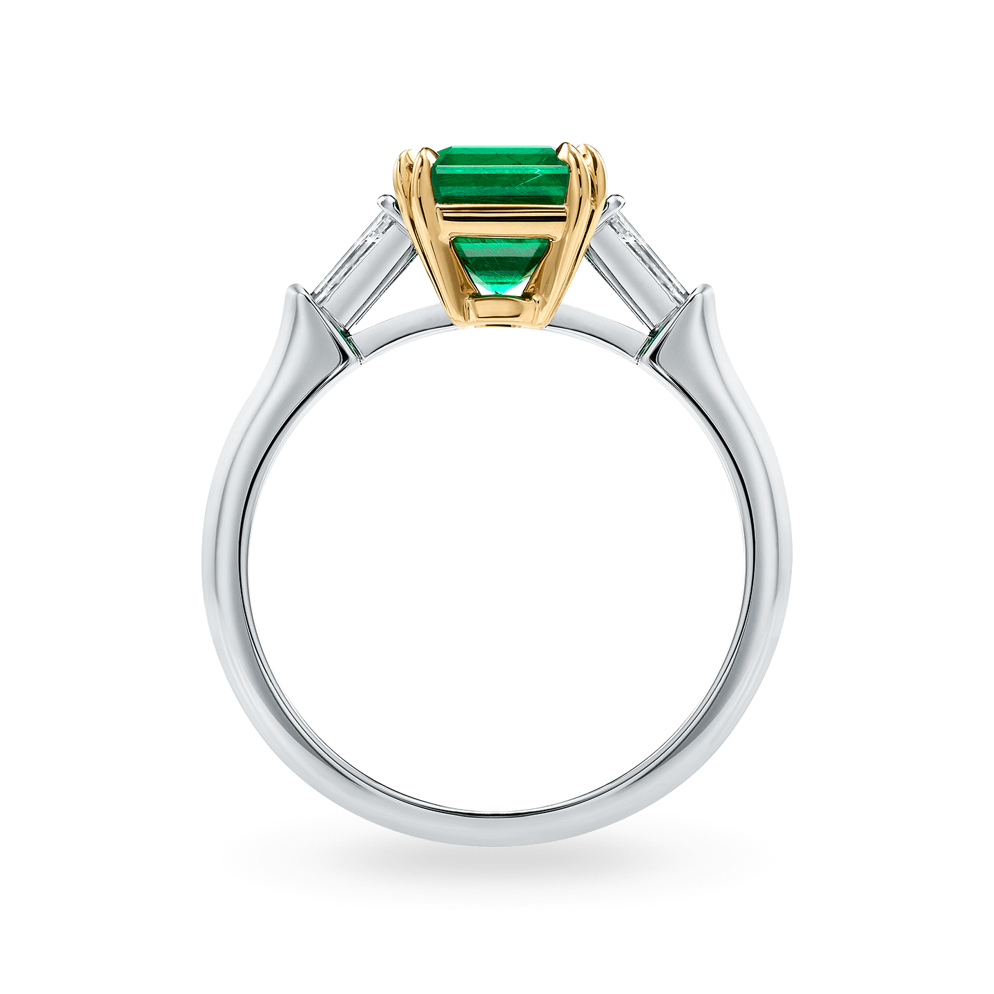 Classic Winston Emerald-Cut Emerald Ring, Product Image 2
