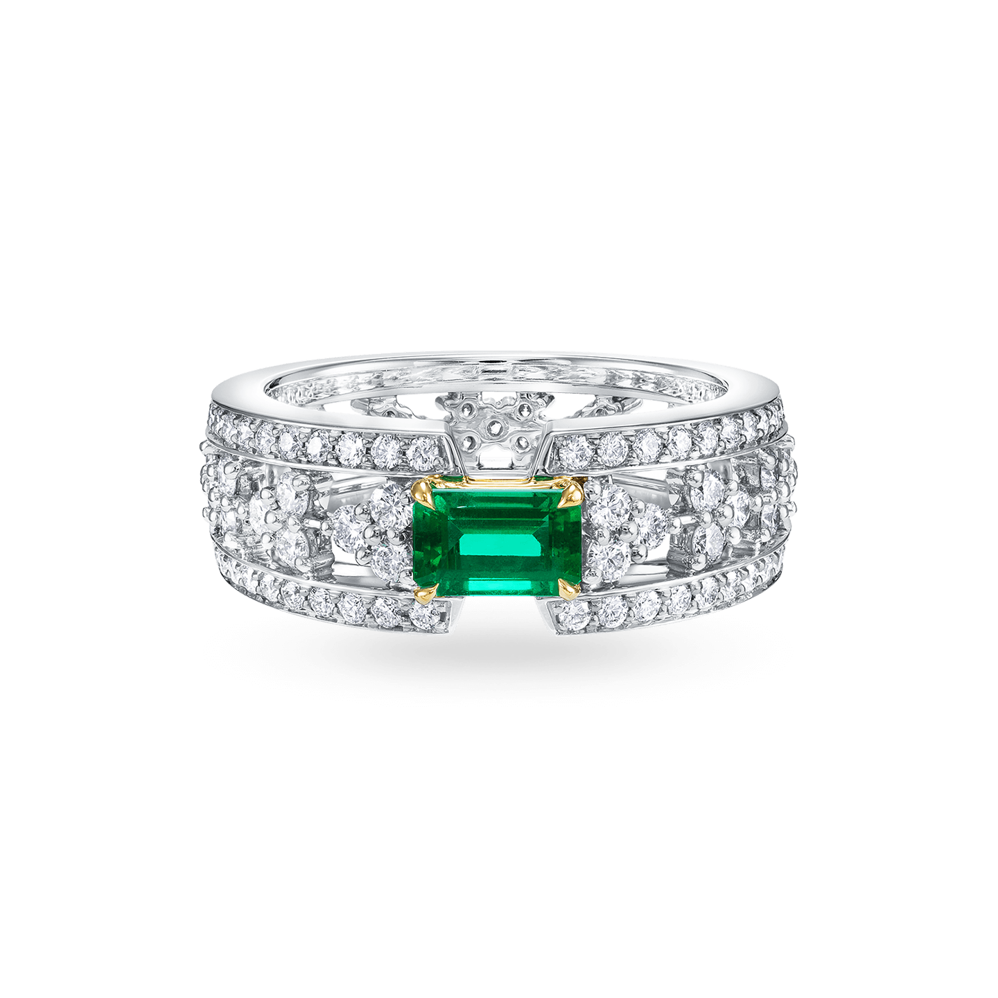 Emerald and Diamond Ring, Product Image 1
