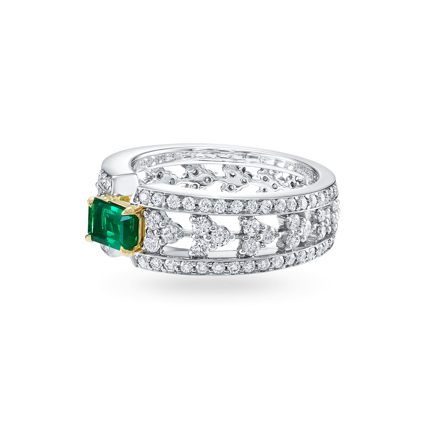 Emerald and Diamond Ring, Product Image 2