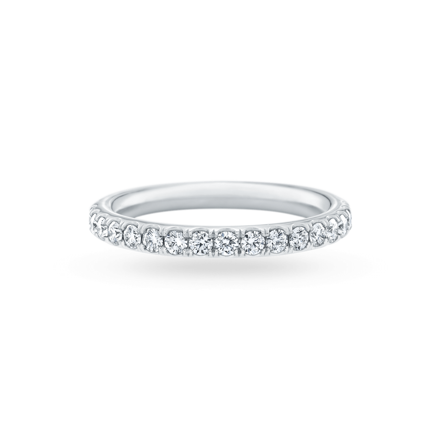 Micropavé Diamond Large Wedding Band, Product Image 1