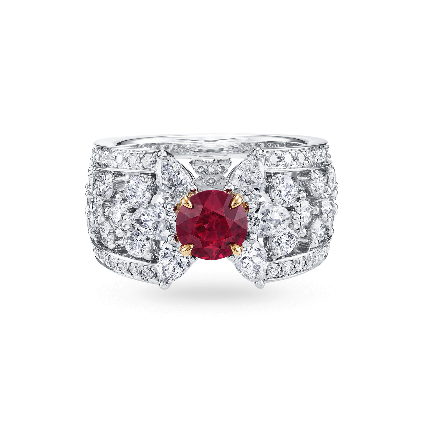 Ruby and Diamond Ring , Product Image 1