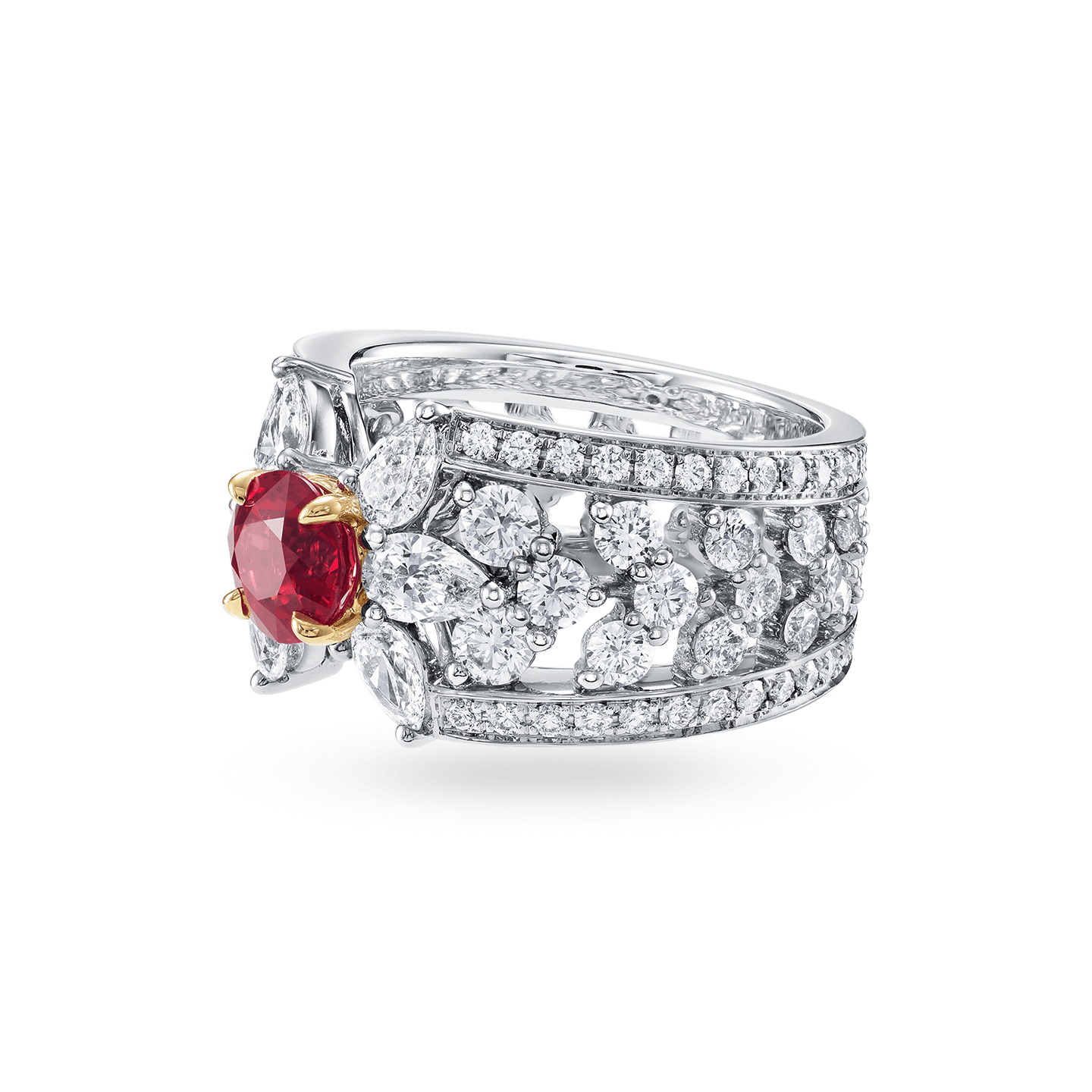Ruby and Diamond Ring , Product Image 2