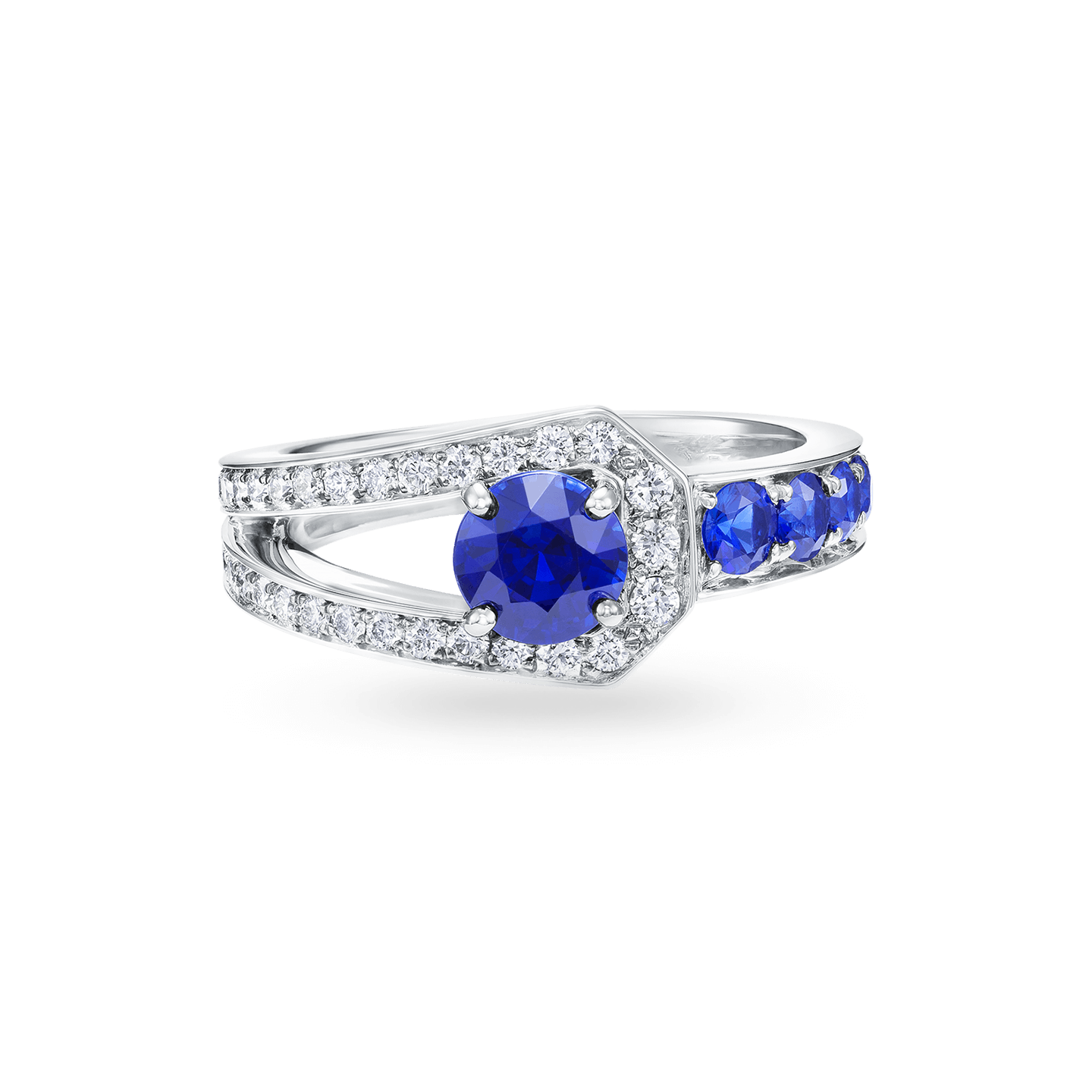 Sapphire and Diamond Ring, Product Image 1