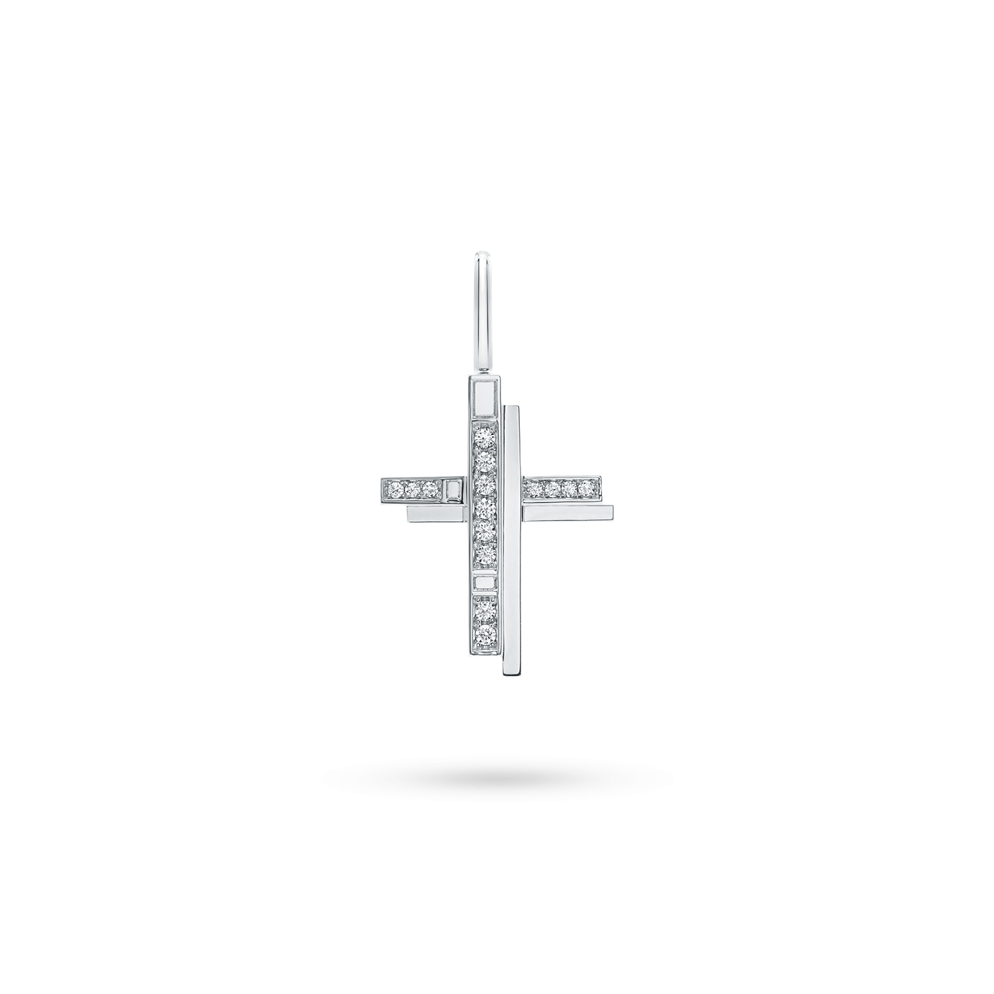 TrafficCross Charm in Platinum, Product Image 1