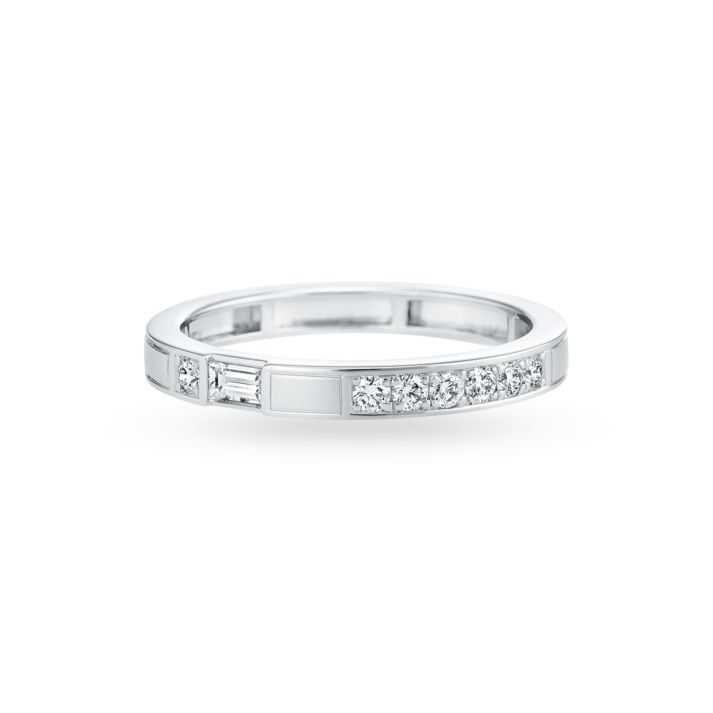 Traffic Diamond Wedding Band, Product Image 1