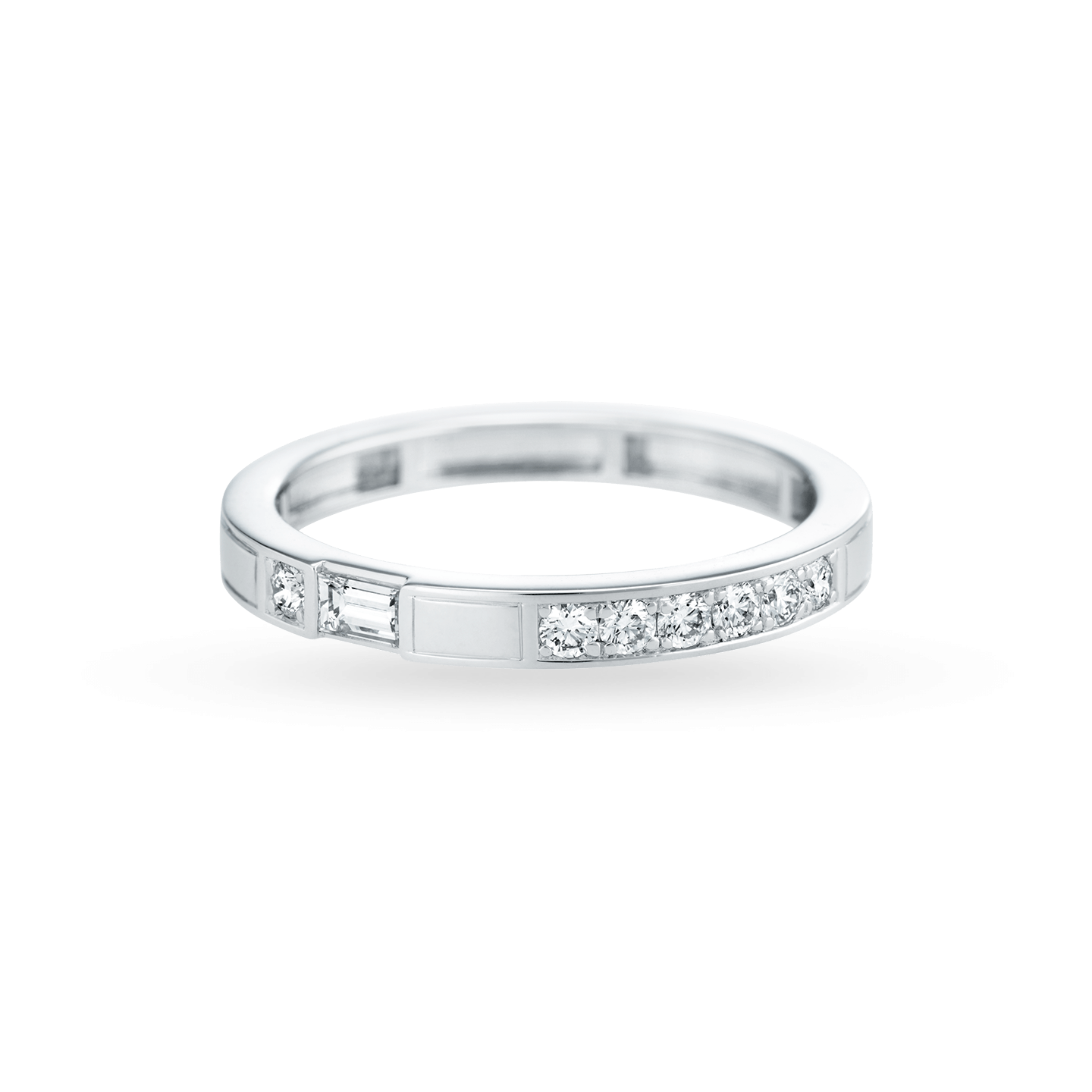 Traffic Diamond Wedding Band, Product Image 2