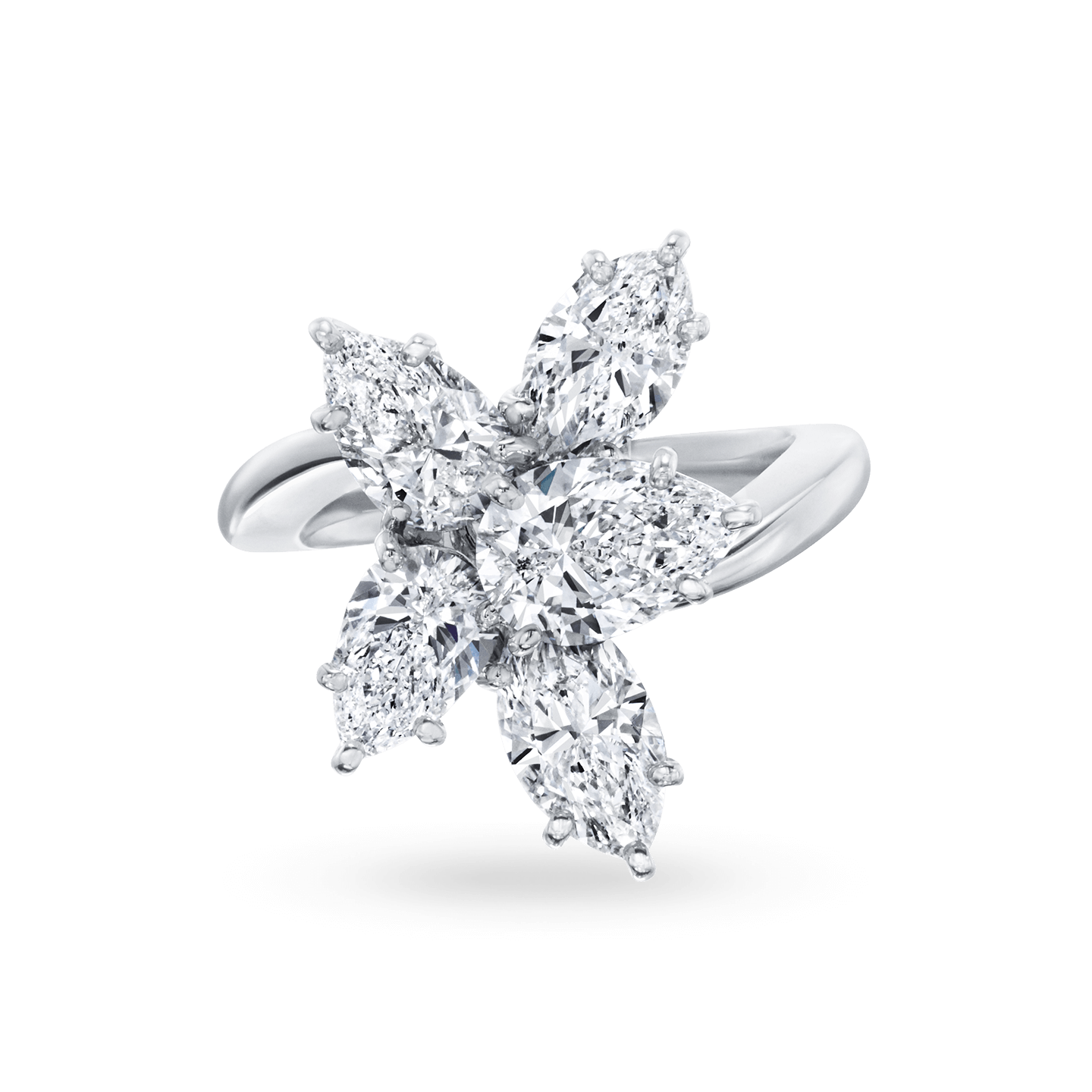Winston Cluster Large Diamond Ring, Product Image 1
