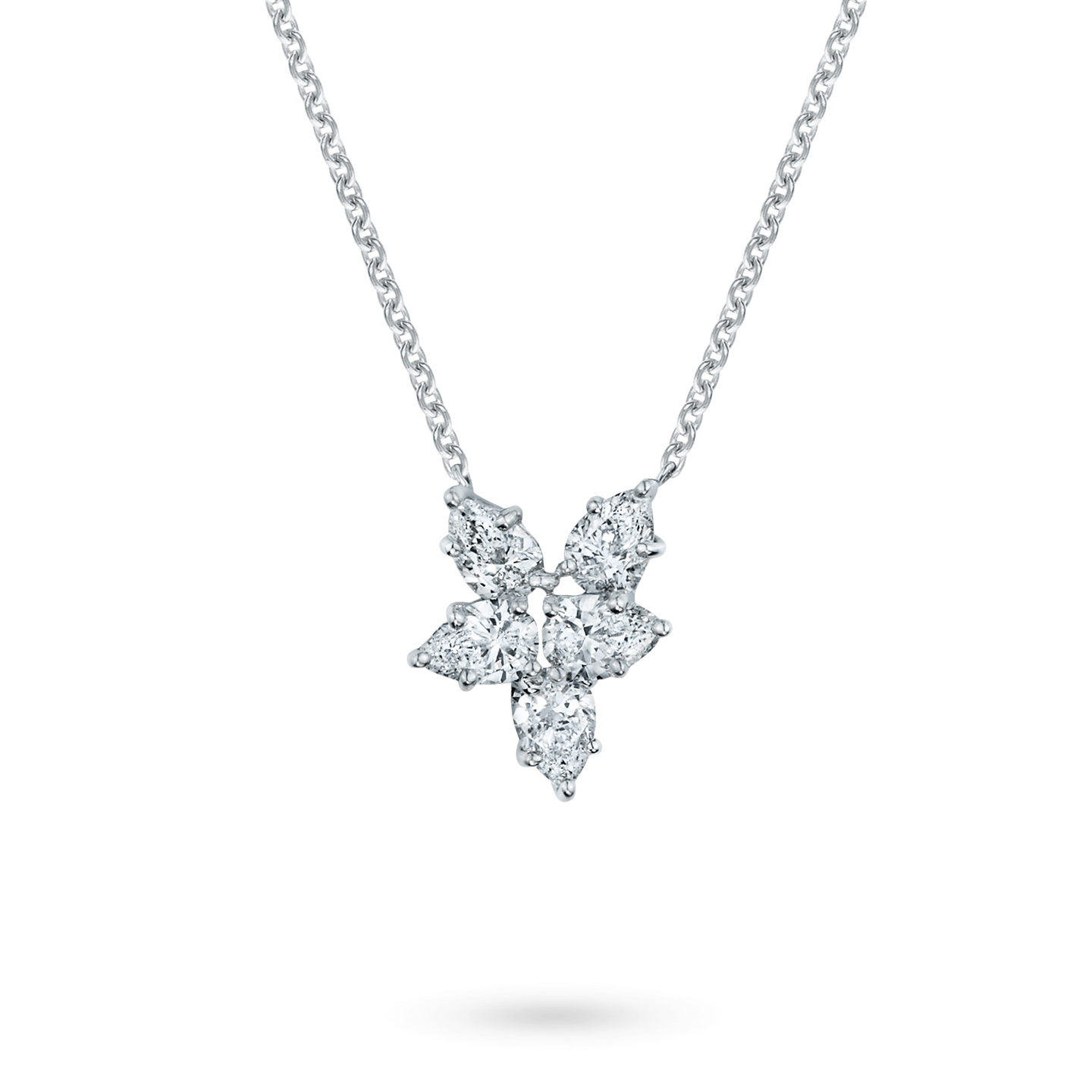 Winston Cluster Small Diamond Pendant, Product Image 1