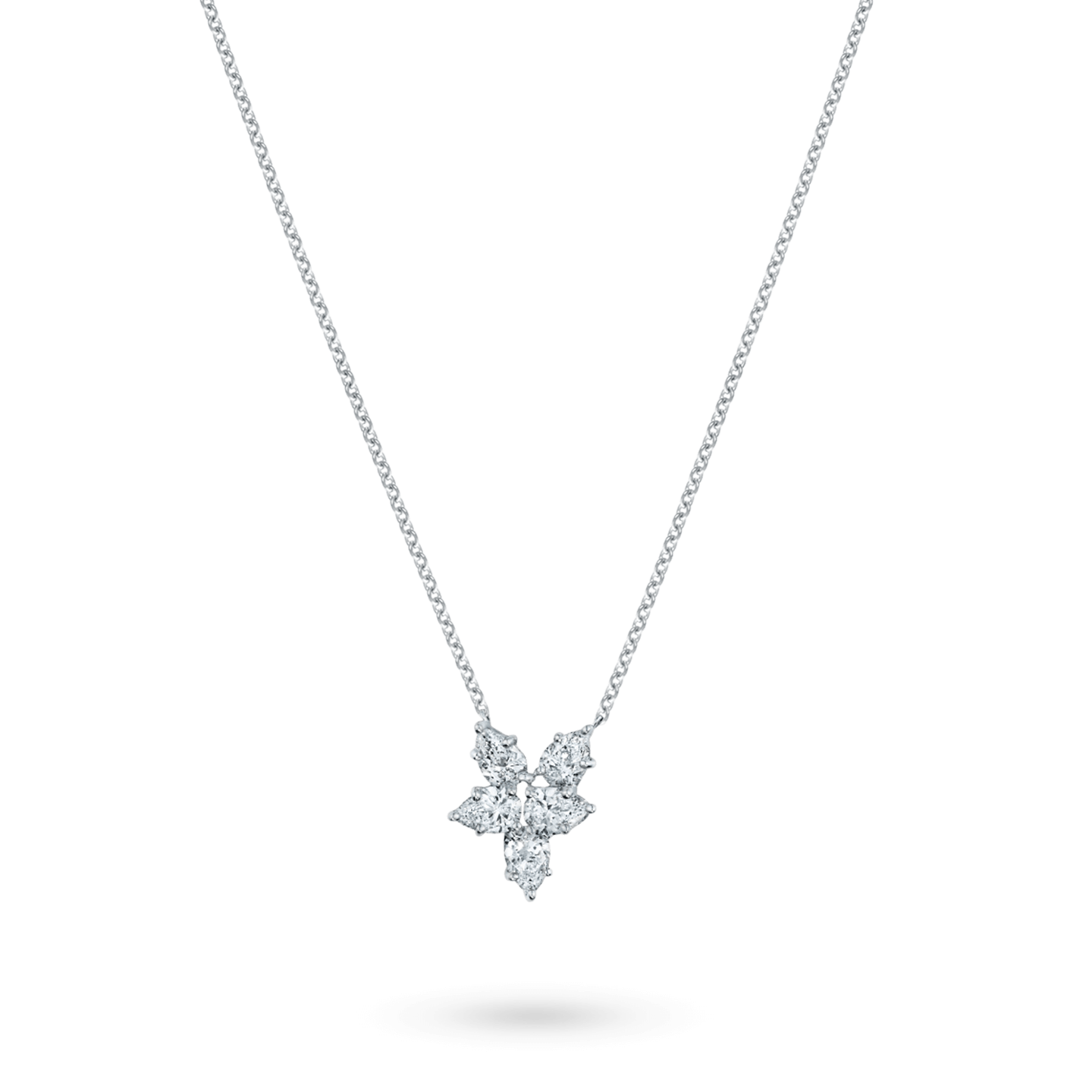 Winston Cluster Small Diamond Pendant, Product Image 2