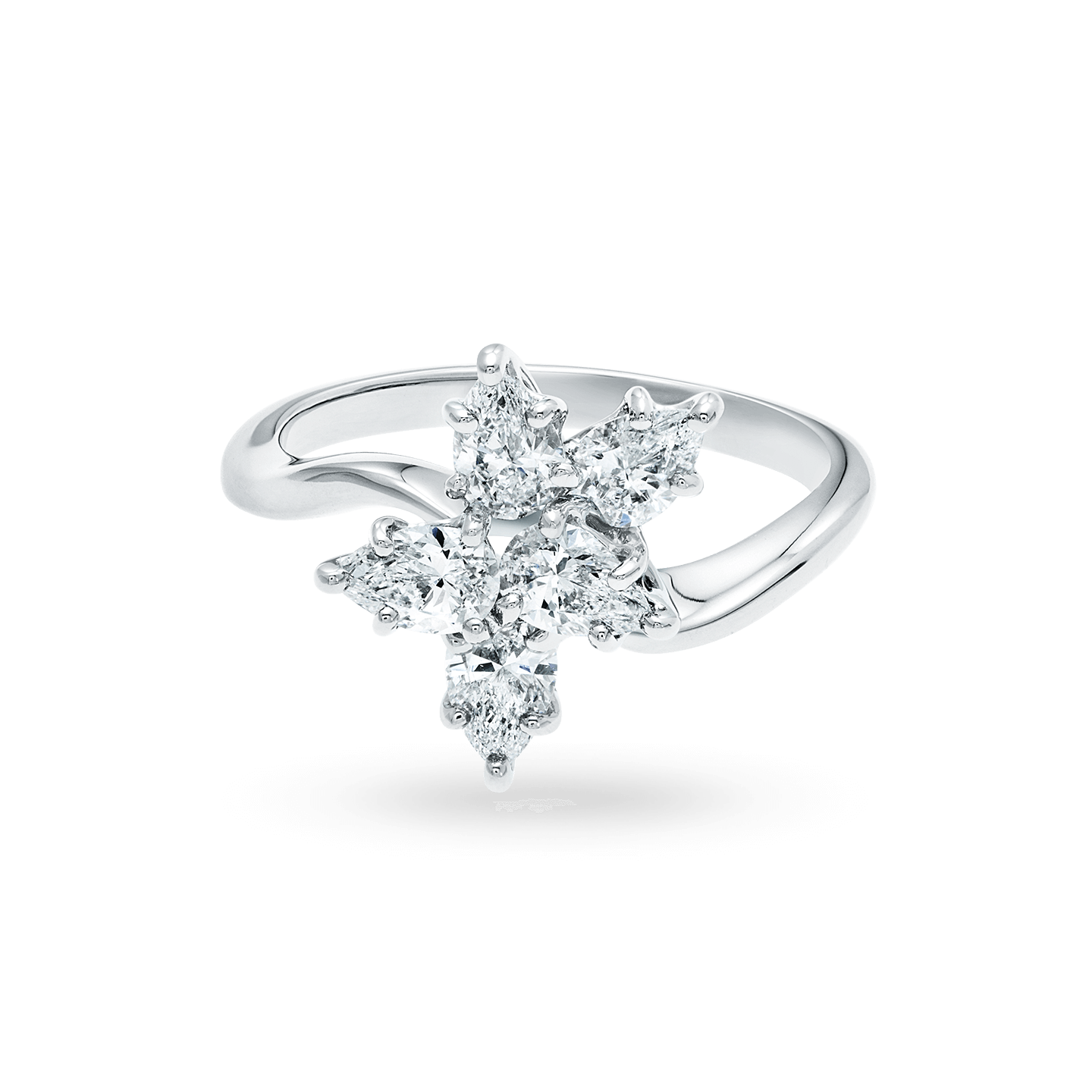 Winston Cluster Small Diamond Ring, Product Image 1