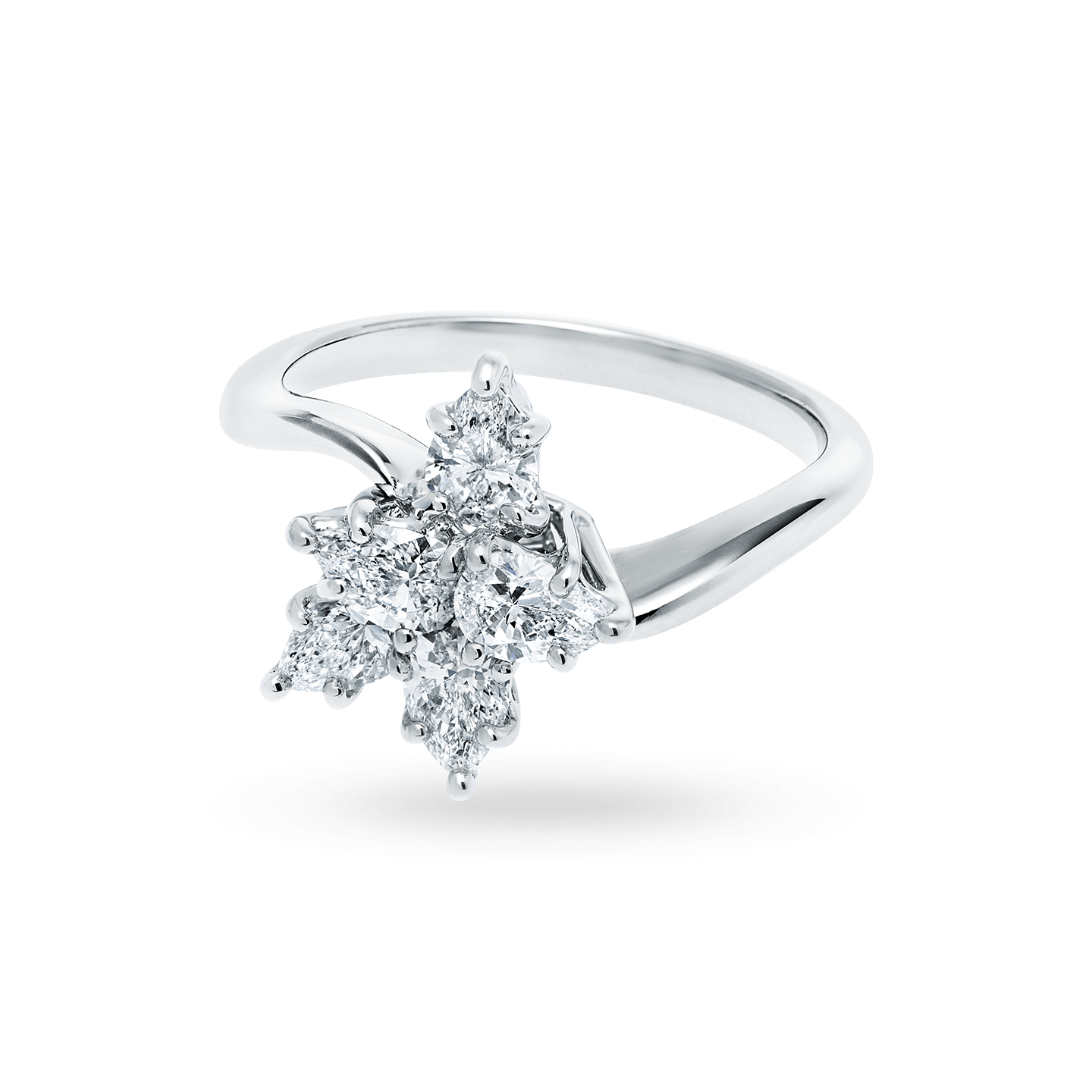 Winston Cluster Small Diamond Ring, Product Image 2