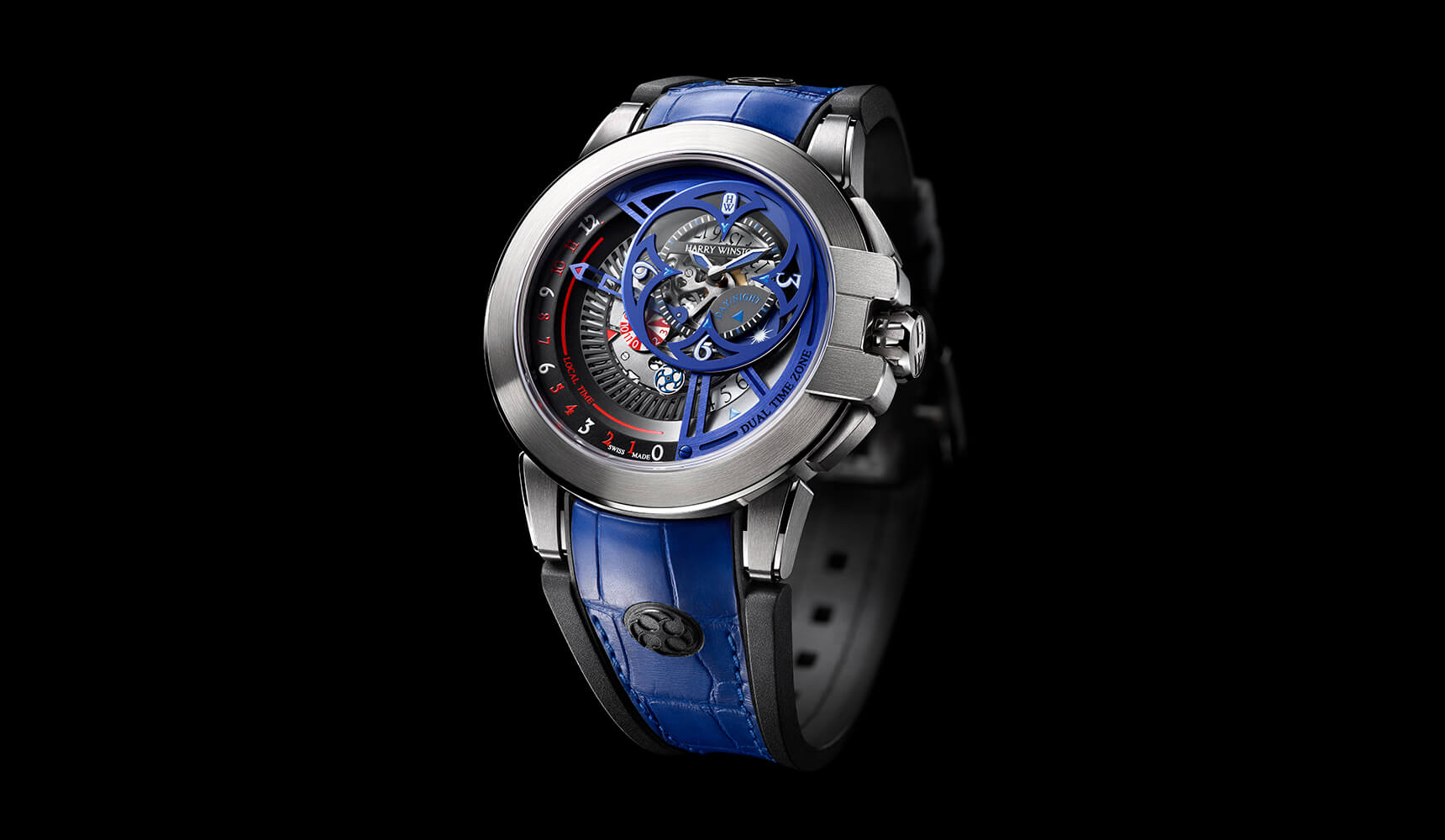 Ocean Dual Time Retrograde Only Watch 2015