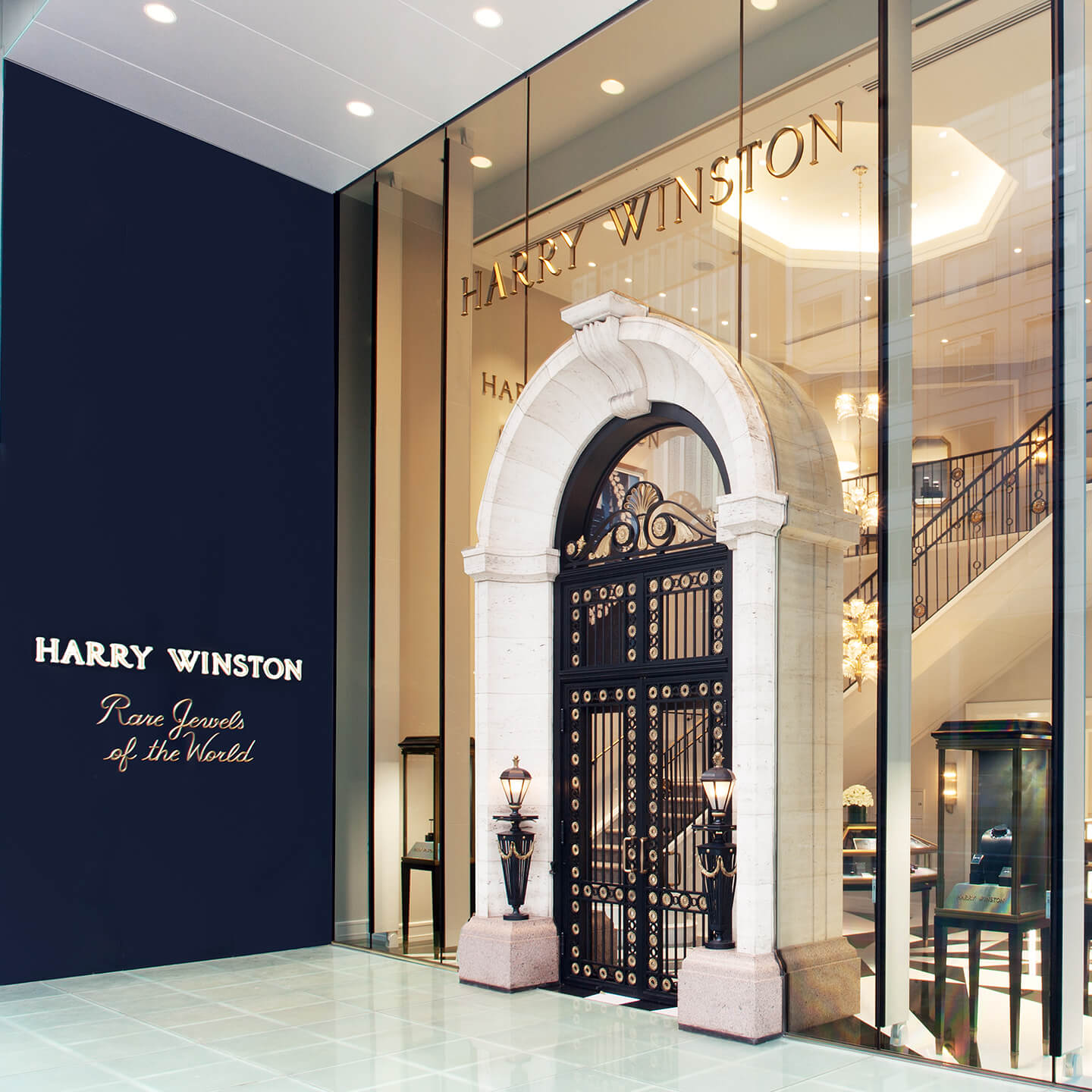 Harry Winston Reopens Flagship Salon in Ginza