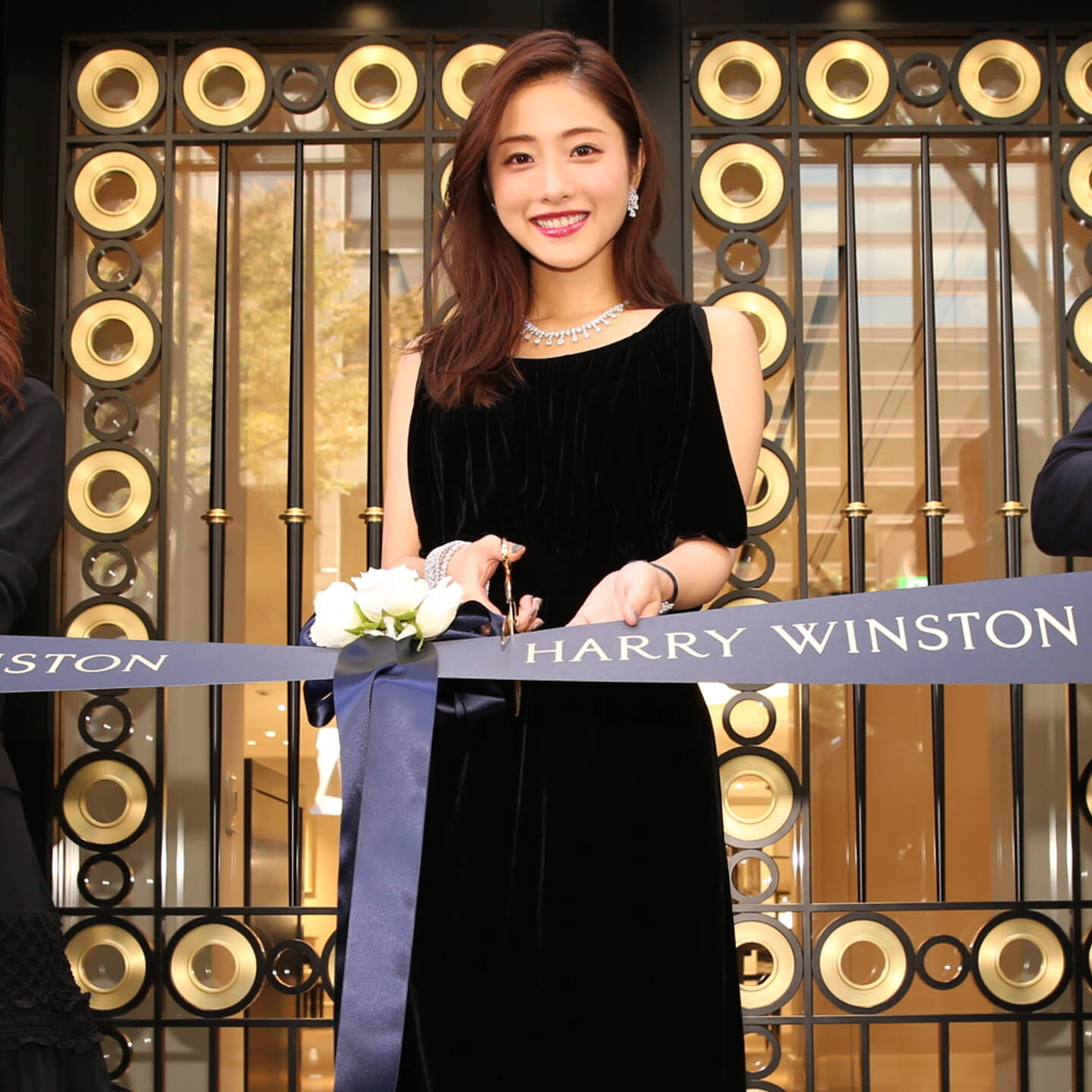 Harry Winston Reopens its Salon in Nagoya