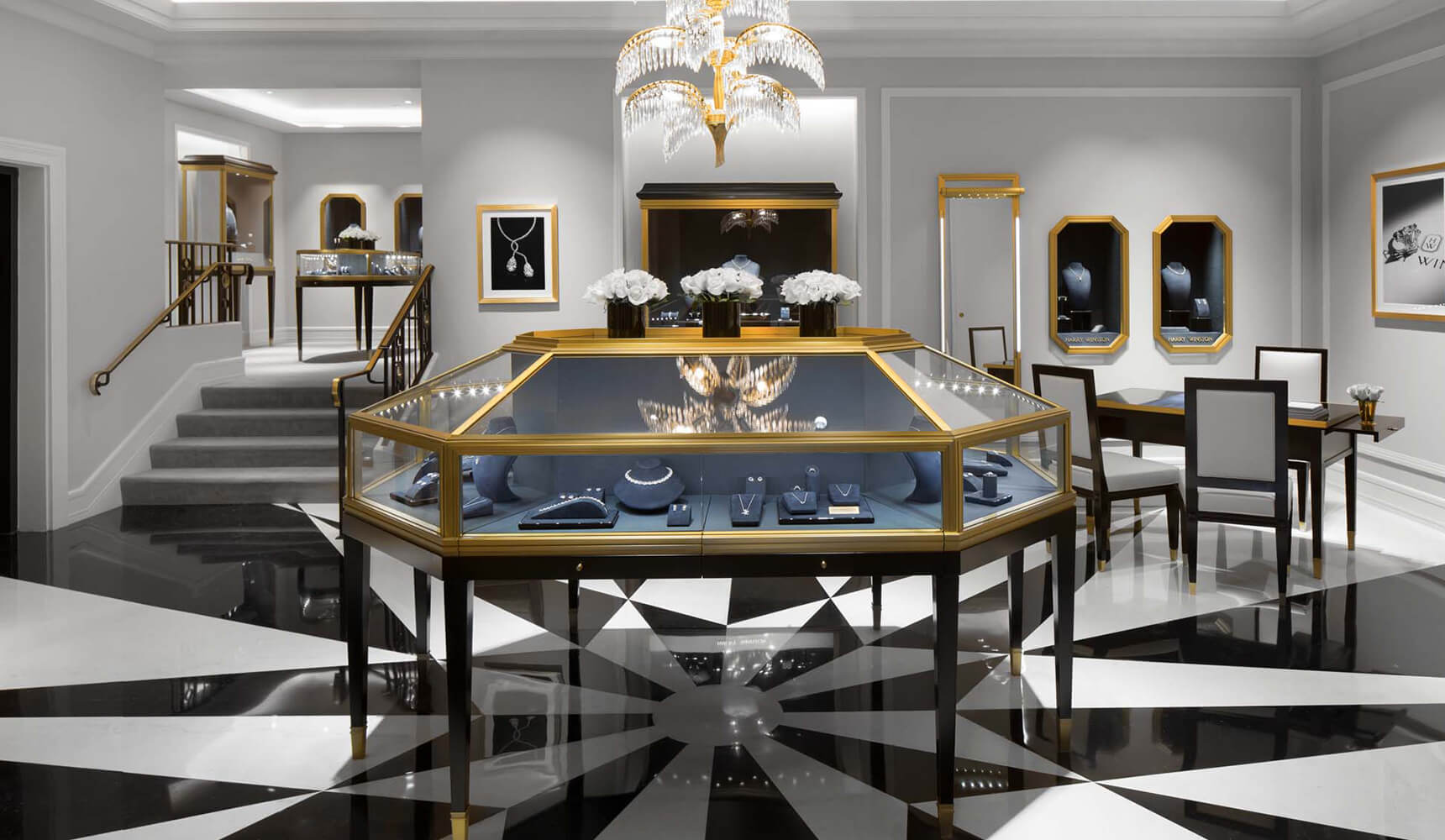 Harry Winston Opens A New Temporary Salon in New York