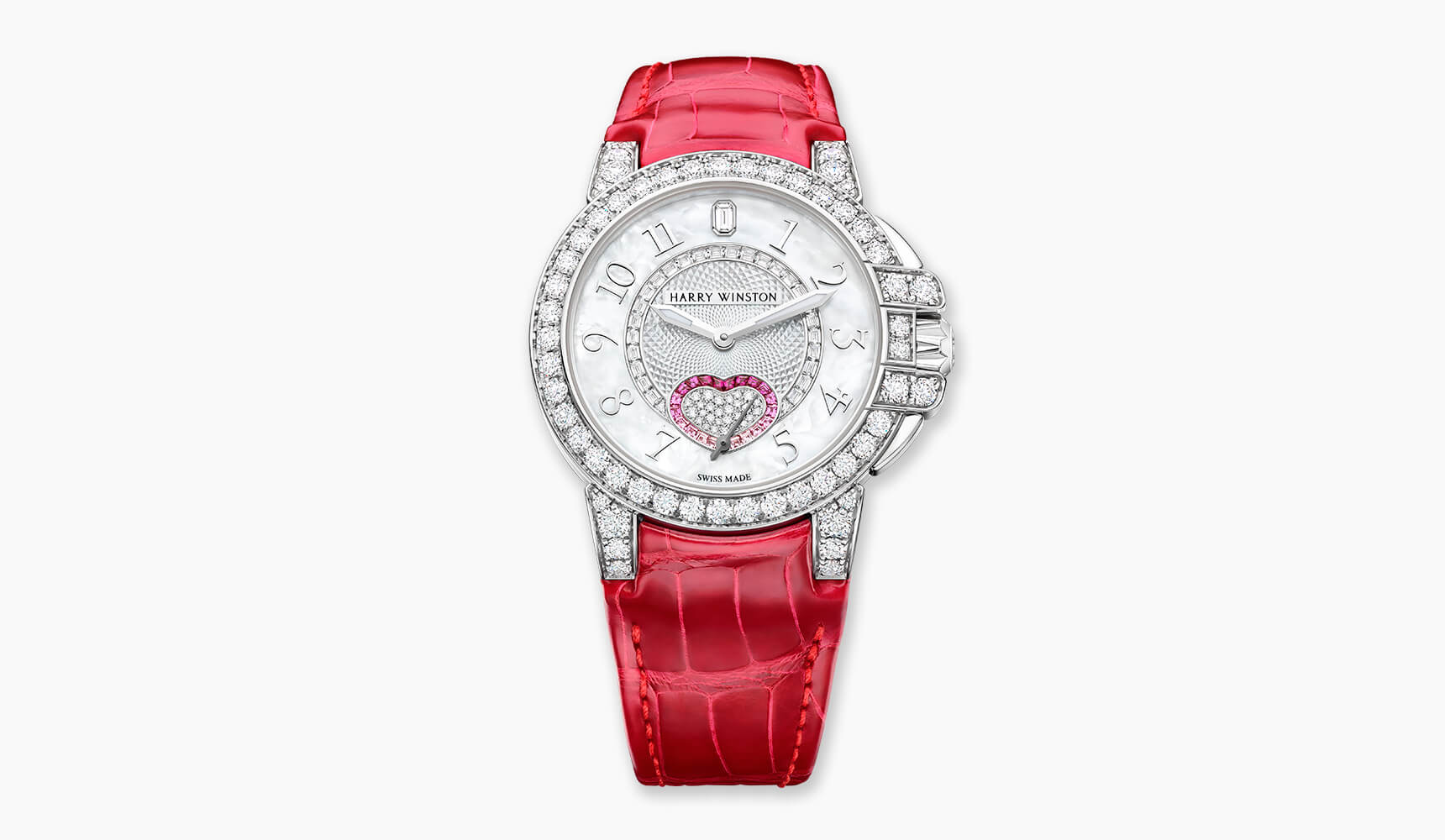Harry Winston is proud to introduce a romantic Valentine's Day timepiece in its sporty Ocean Collection