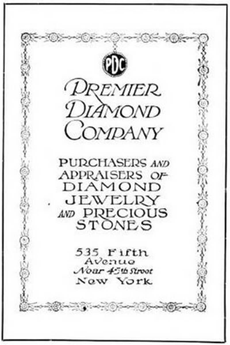 Black and white image of the Winston family in their Los Angeles jewelry shop