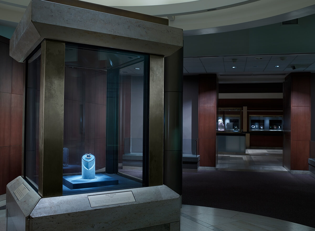 The Harry Winston Gallery at The Smithsonian Institution in Washington, D.C.