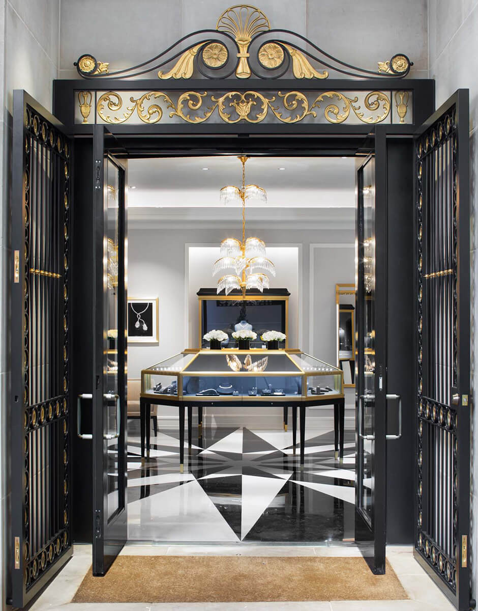 Harry Winston salon entrance
