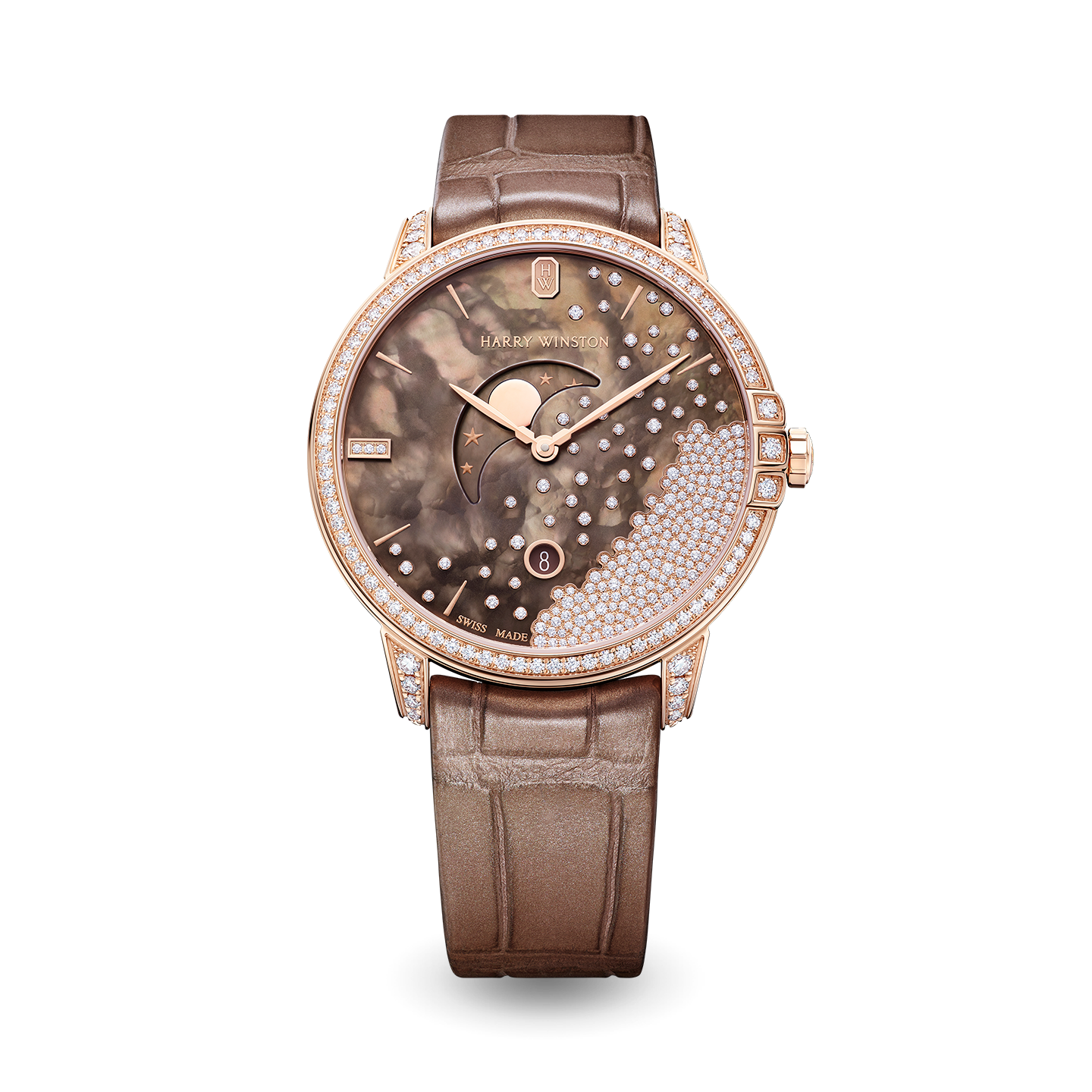 Midnight Diamond Drops Chocolate 39mm, product image 1